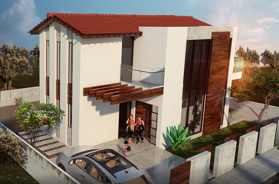 LEVANDA VILLAS PHASE B V44 3 BEDROOM TYPE HM