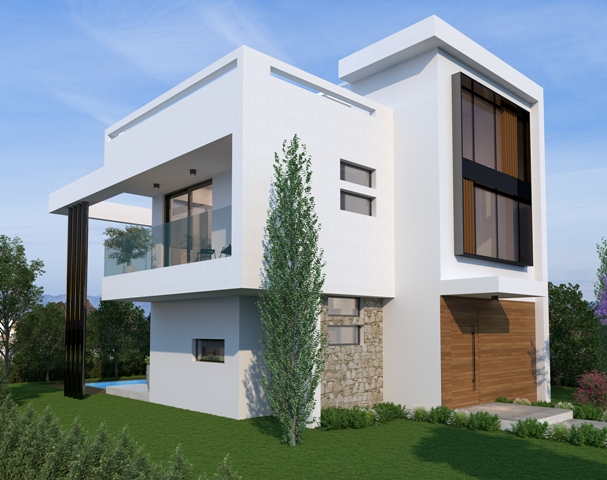 LEVANDA HILLS 3 BEDROOM VILLA V6 TYPE B - AYIA TRIADA