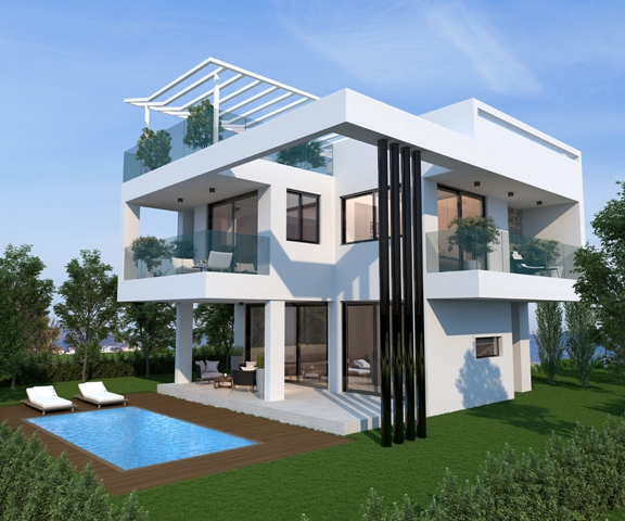 LEVANDA HILLS 3 BEDROOM VILLA V21 TYPE C - AYIA TRIADA