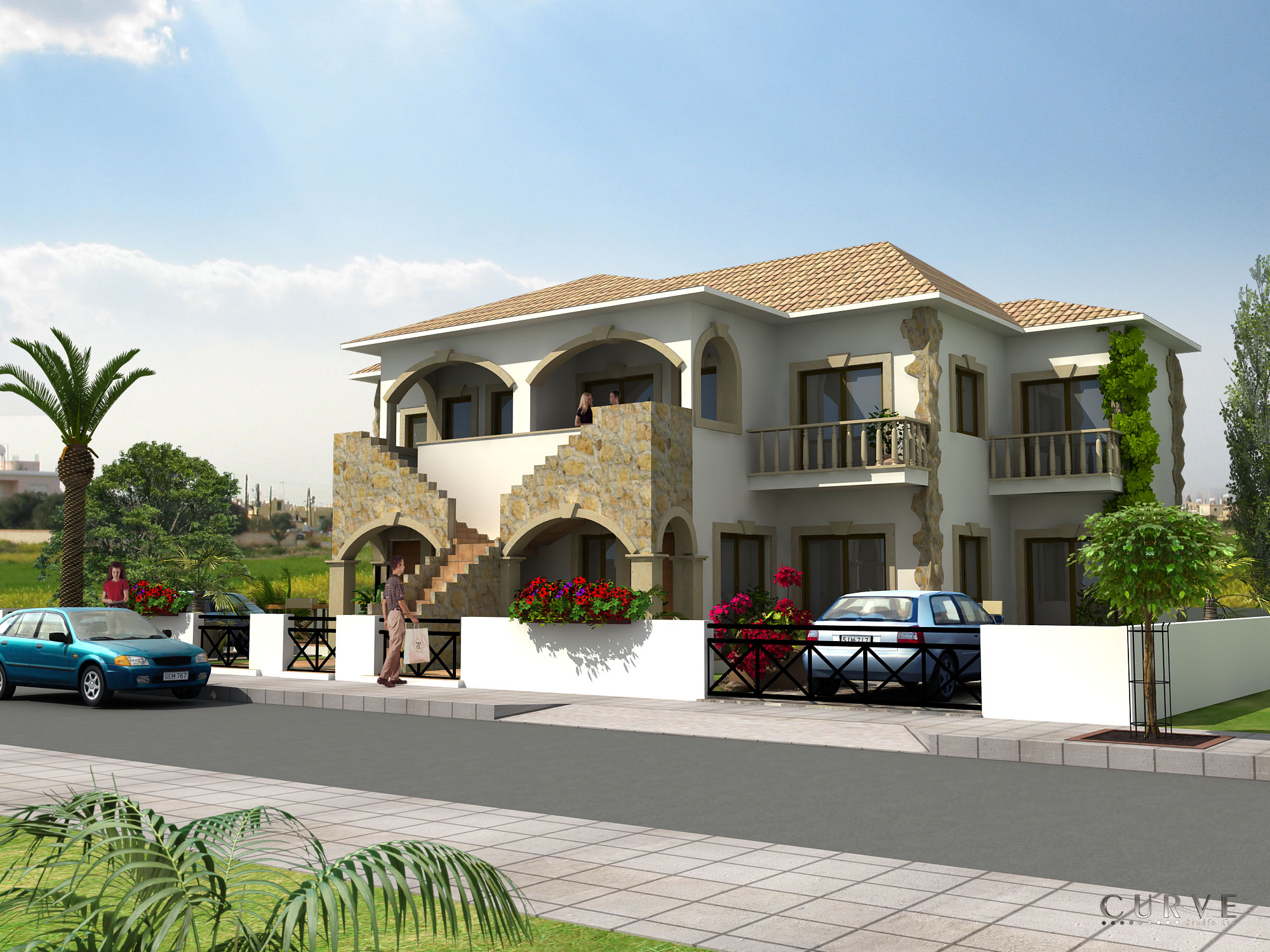 AYIA MARINA VILLAS V14 2 BEDROOM TYPE B